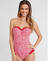 Minnie Underwired Frill Bandeau Swimsuit