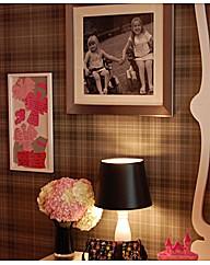 Graham & Brown Audrey Charcoal Wallpaper