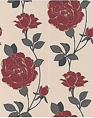Superfresco Colour Rosey Wallpaper