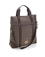 Dunlop Check Holdall Bag