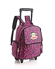 Paul Frank Leopard Print Trolley Bag
