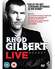 Rhod Gilbert Live Box Set
