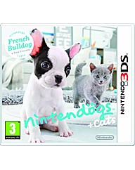 Nintendogs + Cats 3DS French Bulldog+ Ne