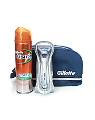 Gillette Fusion Travel Shaving Set