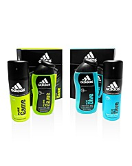 Pair of adidas Boxed Gift Sets