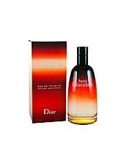 Christian Dior Aqua Fahrenheit 125ml Edt