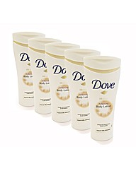 Dove Silkening 250ml Body Lotion Pk of 5