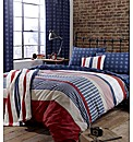 Stars And Stripes Duvet Set