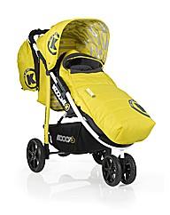 Koochi Pushmatic 3 wheeler-Yellow