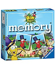 Bin Weevils Mini Memory Game
