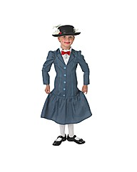 Disney Girls Mary Poppins Costume