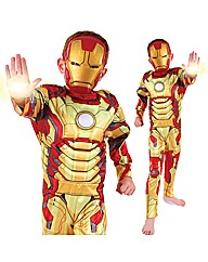 Boys Premium Iron Man 3 Costume Age 6-8