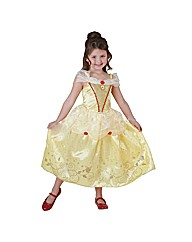 Girls Disney Royale Belle Large Age 7-8