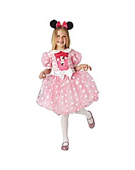 Glitz Pink Minnie Mouse Medium Age 5-6