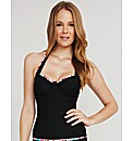 Black Magic Underwired Tankini Top