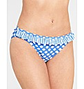 Pin Up Frill Bikini Brief