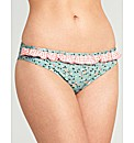 Flower Garden Frill Bikini Brief