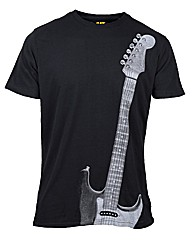 Caterpillar Guitar T-Shirt