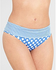Pin Up Fold Bikini Brief