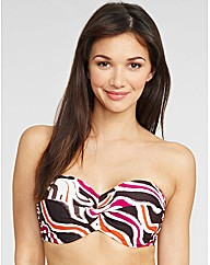 Antigua Underwired Twist Bandeau