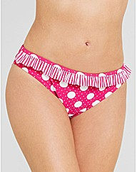 Pin Up Frill Brief