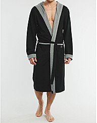 JERSEY HOODED ROBE