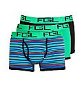 Colour Real 3 Pack Stripe Trunk