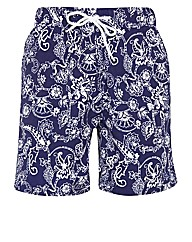 Paisley Swim Short