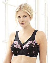 Embroidered MagicLift Full Support Bra