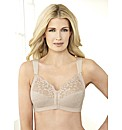 Soft Shoulders T-Back Support Bra