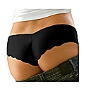 Naturana Black Invisible Touch Brief