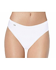 Playtex Pure Cotton High Leg Brief