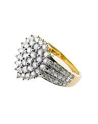 9ct Yellow Gold 1ct Diamond Ring