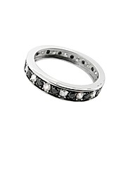 9ct White Gold 1ct Diamond Eternity Ring