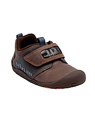 Start-rite Launch Pad Brown Fit G Shoes