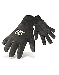 CAT Jersey Dotted Palm Gloves Large