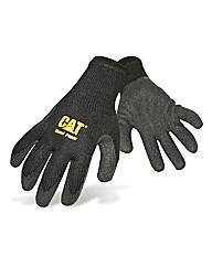 CAT Latex Palm Gloves Medium