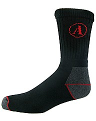 Amblers Steel Heavy Duty Work Sock 2pk