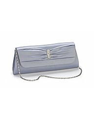 Lili Bou Satin Evening Bag
