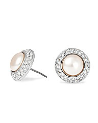 Alah Hannah Devoted Pearl Stud Earring