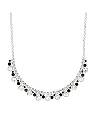 Jon Richard Crystal Cluster Necklace