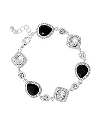 Jon Richard Jet Crystal Bracelet