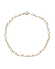 Alan Hannah Devoted Pearl Clasp Necklace
