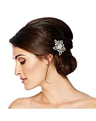 Jon Richard Crystal Daisy Hair Comb