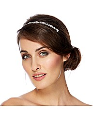 Jon Richard Vine Crystal  Headband