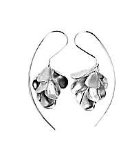 Sterling Silver Foxglove Earrings