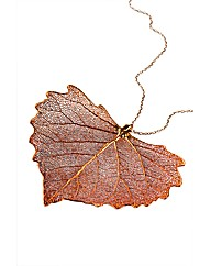 Jumbo Cotton Wood Iridescent Leaf