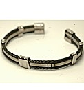 Titanium Cable Torque Bangle