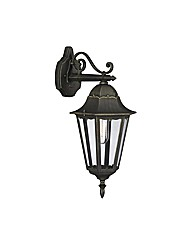 Zagreb Down Lantern Wall Light
