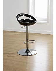 Washington Barstool Black